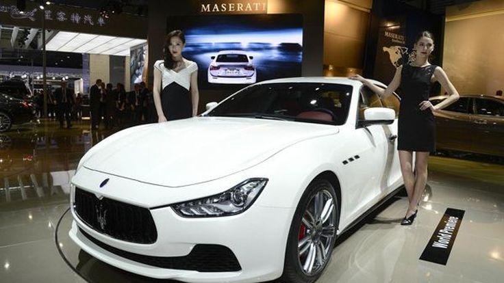 เปิดตัวจริงแล้ว 2014 Maserati Ghibli บุกเวทีเซี่ยงไฮ้ ออโต้โชว์