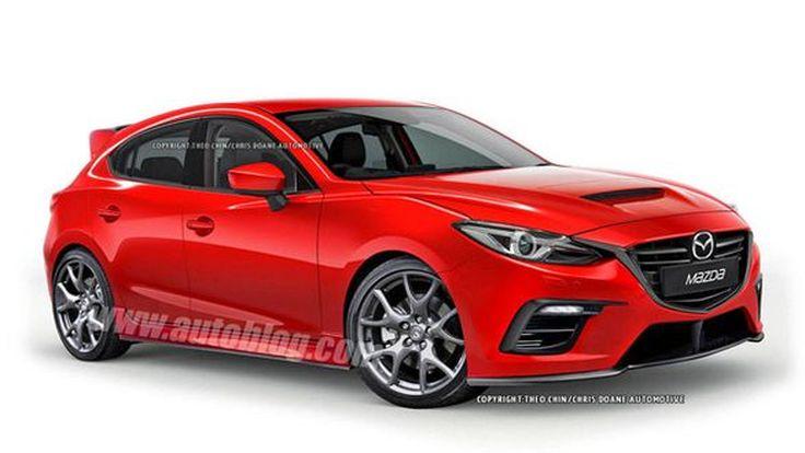 หล่อสุด! Mazdaspeed3 เจนเนอเรชั่นใหม่ อาจโฉบเฉี่ยวถึงเพียงนี้