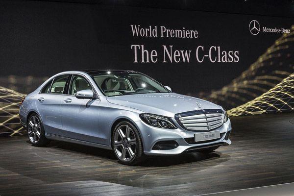 ยลโฉมตัวจริง 2014 Mercedes-Benz C-Class หล่อหรูดูดีมีสกุล