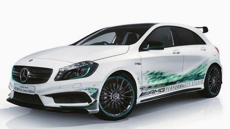 2014 Mercedes-Benz A45 AMG PETRONAS Green Edition รุ่นพิเศษสำหรับแฟน F1
