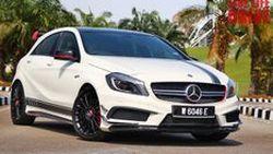 รีวิว ทดสอบขับ 2014 Mercedes-Benz A45 Edition 1 แรงถึงใจ