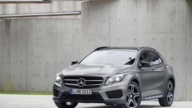 2014 Mercedes-Benz GLA เผยโฉมแล้ว ครบครันเบนซิน-ดีเซล ขับเคลื่อนสี่ล้อ