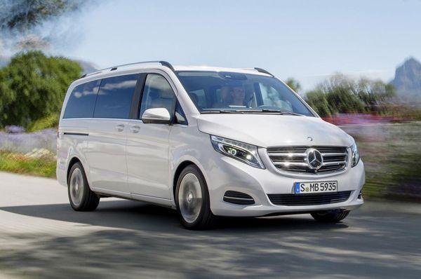 เปิดตัว 2014 Mercedes-Benz V-Class อัพเกรดทั้งภายนอกและภายใน