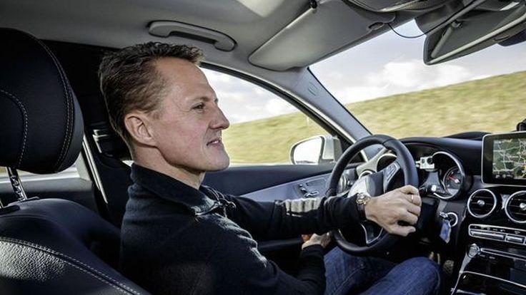 เชื่อมือได้! มิชาเอล ชูมัคเกอร์ ทดสอบความปลอดภัยของ 2014 Mercedes-Benz C-Class