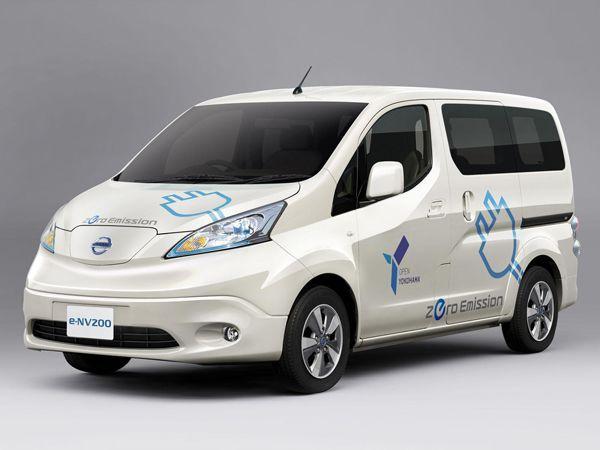 รุ่นโปรดักชั่นมาแล้ว 2014 Nissan e-NV200 รถไฟฟ้าออกจำหน่ายปีหน้า