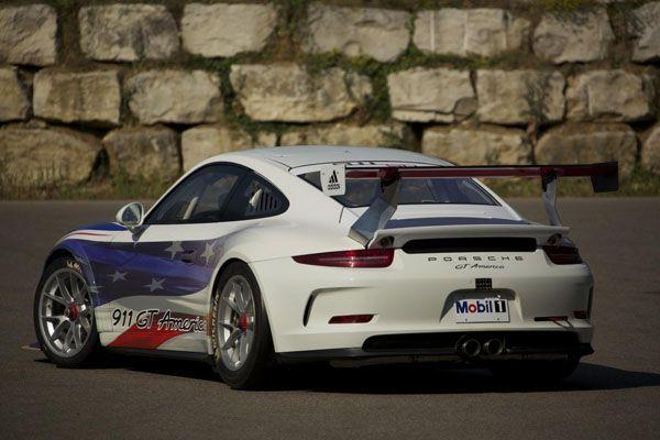 2014 Porsche 911 GT America รถแข่งสำหรับคอรถสปอร์ตอเมริกัน