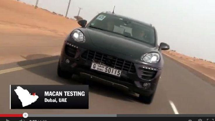 ชมวีดีโอ 2014 Porsche Macan ตะลุยทะเลทราย โชว์สมรรถนะในดูไบและแคลิฟอร์เนีย