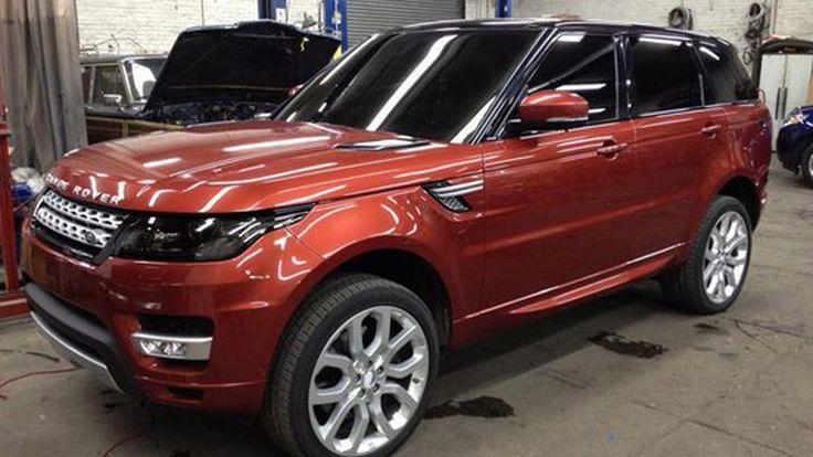 หลุดเต็มๆ 2014 Range Rover Sport มาพร้อมสไตล์คล้าย Evoque แบบพองลม