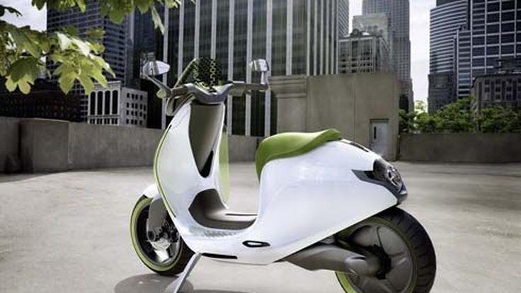 Smart eScooter Concept สองล้อไฟฟ้า ได้รับไฟเขียวขึ้นสายการผลิต จ่อลงตลาดปี 2014