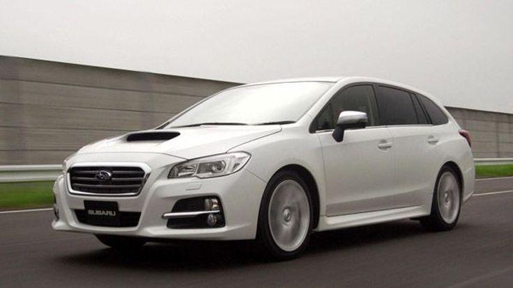 2014 Subaru Levorg โชว์ลวดลายในสนามแข่ง เปิดให้ลูกค้าชาวญี่ปุ่นจับจองสุดสัปดาห์นี้