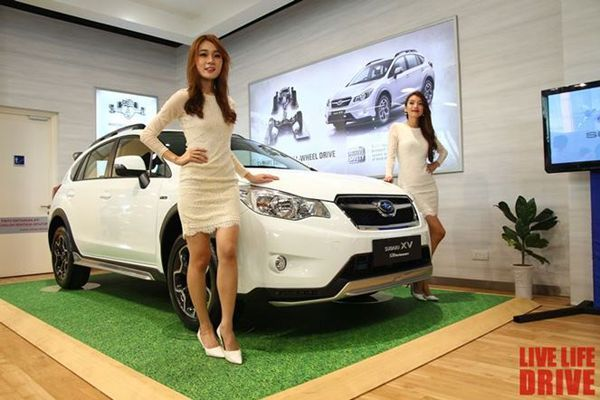 2014 Subaru XV STI Performance Edition เปิดตัวในมาเลเซีย เมืองไทยลำดับต่อไป