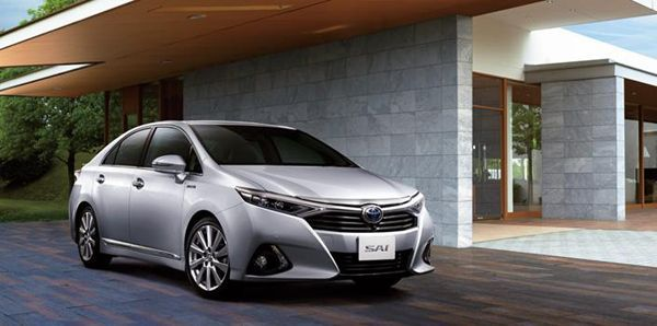 2014 Toyota Sai ซีดานไฮบริดสุดหรูรุ่นปรับโฉม เปิดตัวในญี่ปุ่น