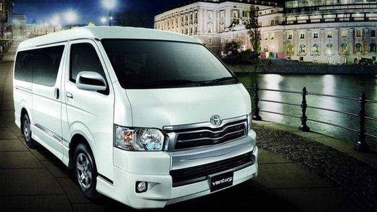 2014 Toyota Ventury ปรับปรุงใหม่  เพิ่มความหรูหรา และเทคโนโลยี
