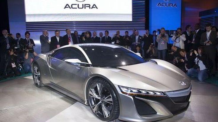 เผย 2015 Acura NSX เจนเนอเรชั่นใหม่ อาจมีค่าตัวแพงกว่า Nissan GT-R