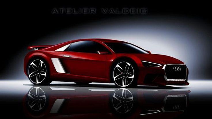 เผย 2015 Audi R8 เจนเนอเรชั่นใหม่น้ำหนักเบากว่าเดิม 60 กก.