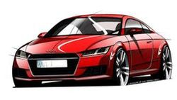 ชมเลยภาพสเก็ตช์ 2015 Audi TT โผล่โลกออนไลน์ ก่อนเปิดตัวที่เจนีวา