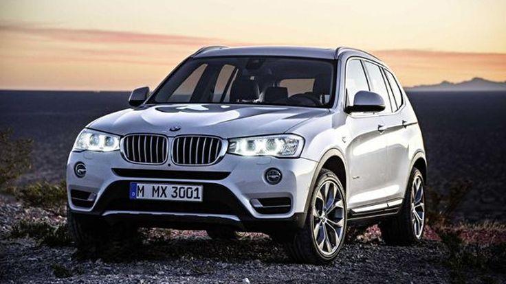 2015 BMW X3 สด-ใหม่-หล่อกว่าเดิม พร้อมขุมพลังดีเซลประหยัดขึ้น