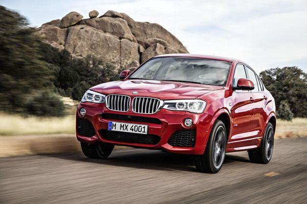 2015 BMW X4 เผยโฉมแล้ว ขึ้นสายการผลิตพร้อมออกขายกลางปีนี้