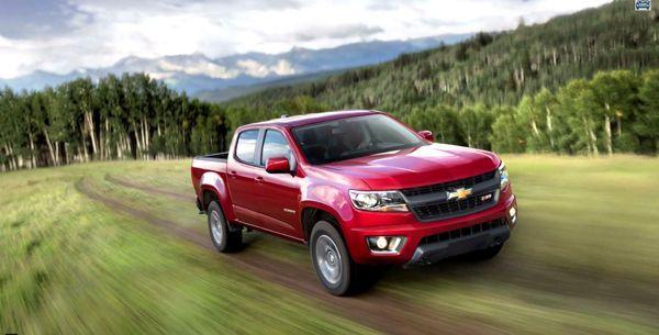 สวยไม่เบา 2015 Chevrolet Colorado ดีไซน์สำหรับลูกค้าอเมริกัน