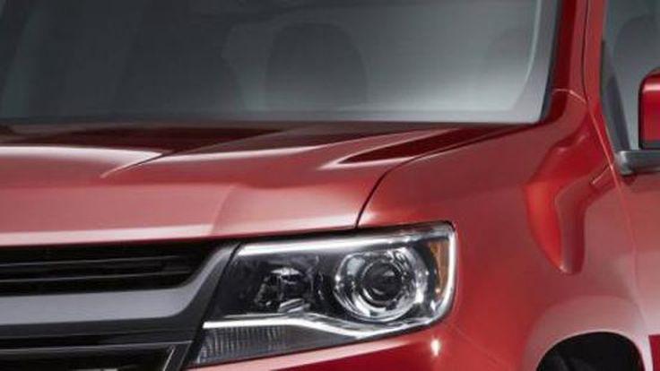เผยภาพรถกระบะปริศนา อาจเป็น 2015 Chevrolet Colorado สเปกอเมริกัน?