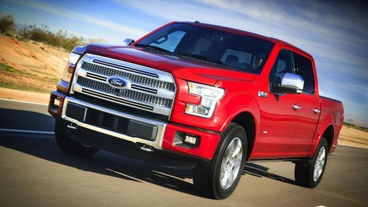 สุดแกร่ง 2015 Ford F-150 ยกระดับการใช้งานเพื่อนักเลงรถกระบะตัวจริง