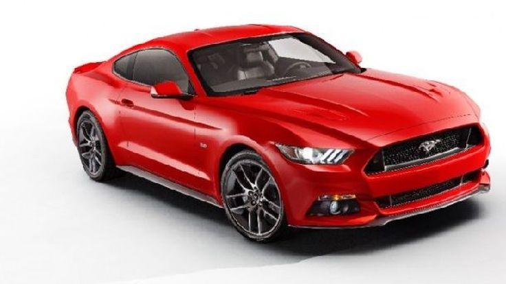 มาแล้วภาพแรก 2015 Ford Mustang ขุมพลัง EcoBoost แรงม้าเฉียด 300 ตัว