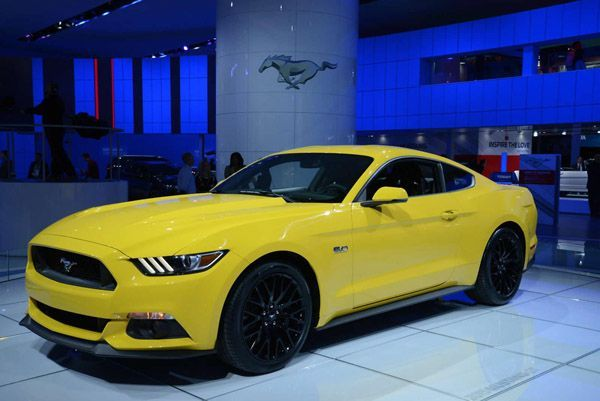 2015 Ford Mustang GT เปิดตัวจริงพร้อมเวอร์ชั่น Convertible