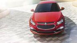 2015 Holden Cruze รุ่นปรับโฉม เติมแต่งความสดใหม่