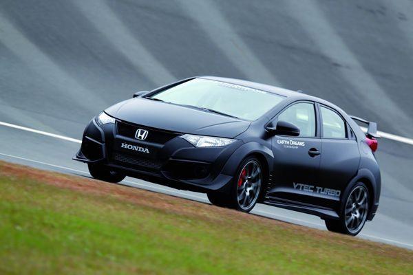 สวยดุดัน 2015 Honda Civic Type R หัวใจขับเคลื่อน VTEC Turbo