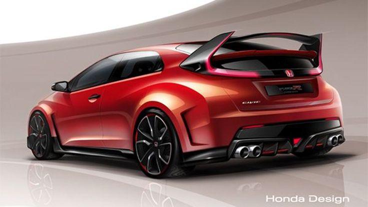 หล่อเกินห้ามใจ 2015 Honda Civic Type R เปิดตัวแน่ต้นเดือนหน้า