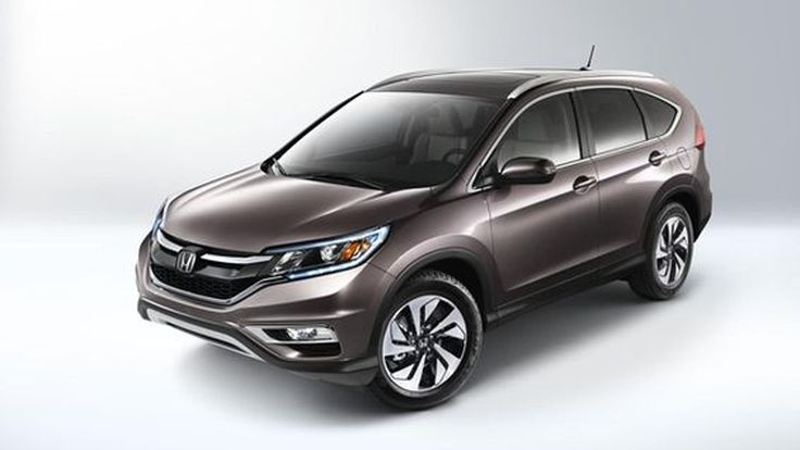 ชมกันเต็มตา 2015 Honda CR-V โฉมไมเนอร์เชนจ์ออกขายในอเมริกา