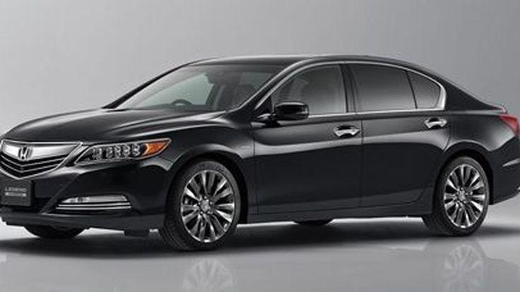 เผยโฉม 2015 Honda Legend รุ่นปรับโฉม ร่างจำแลงของ Acura RLX Sport Hybrid