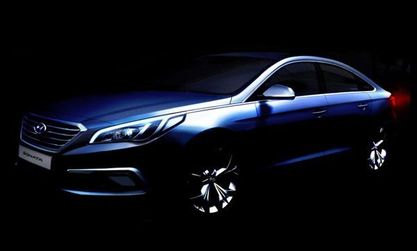 ภูมิฐานยิ่งขึ้น 2015 Hyundai Sonata เจนใหม่ เผยโฉมผ่านภาพทีเซอร์