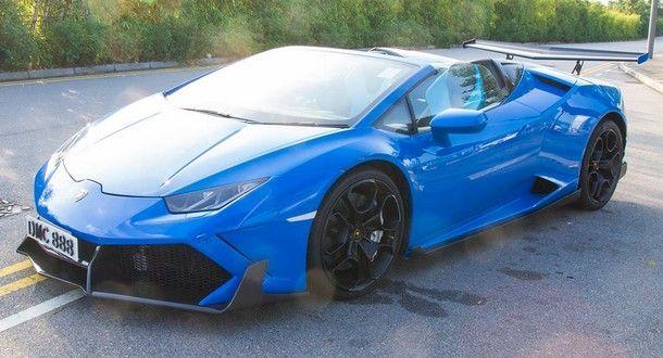2015 Lamborghini Huracan โชว์ลีลาดริฟท์ถ่ายโฆษณา