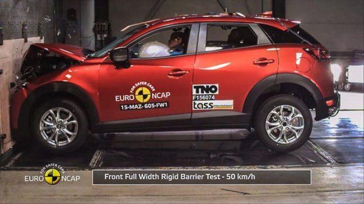 มาสด้า ซีเอ็กซ์-3 ทำคะแนน 4 ดาวทดสอบการชน Euro NCAP