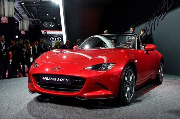 PARIS 2014: เผยข้อมูลขุมพลัง 2015 Mazda MX-5 เจนเนอเรชั่นใหม่