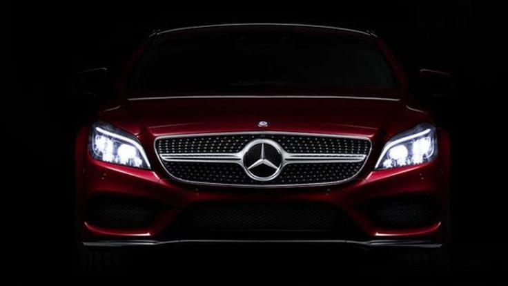 2014 Mercedes-Benz CLS สะดุดตาด้วยไฟหน้า Multibeam LED