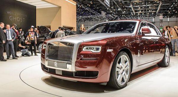 2015 Rolls-Royce Ghost Series II เผยโฉมดีไซน์ใหม่ ยกระดับความสะดวกสบาย