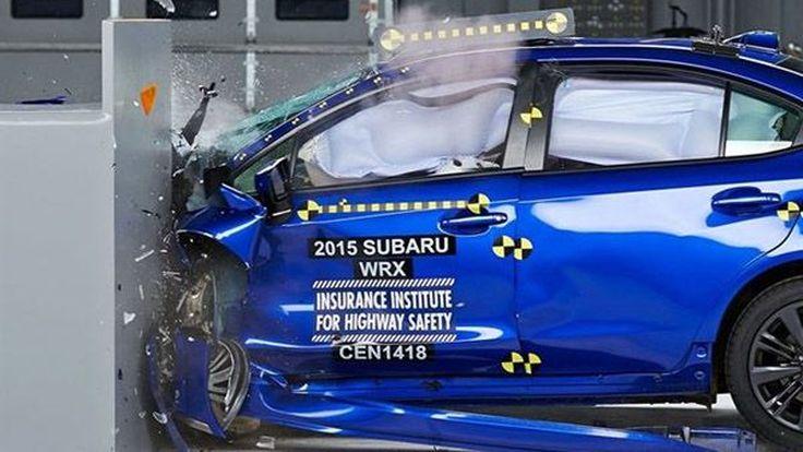 All-New 2015 Subaru WRX คว้าเรตติ้ง IIHS Top Safety Pick ปลอดภัยสูงสุด