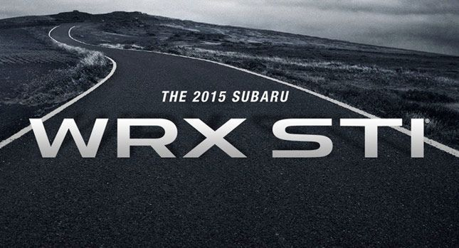 2015 Subaru WRX Sti เตรียมเผยกายใน Detroit Auto Show 2014 สัปดาห์หน้า