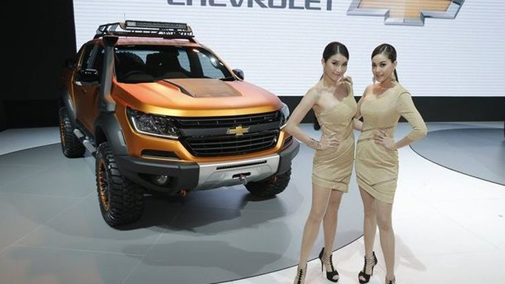 [Brought to you by Chevrolet] Chevrolet Colorado Xtreme และ Trailblazer Premier ใน BIMS 2016