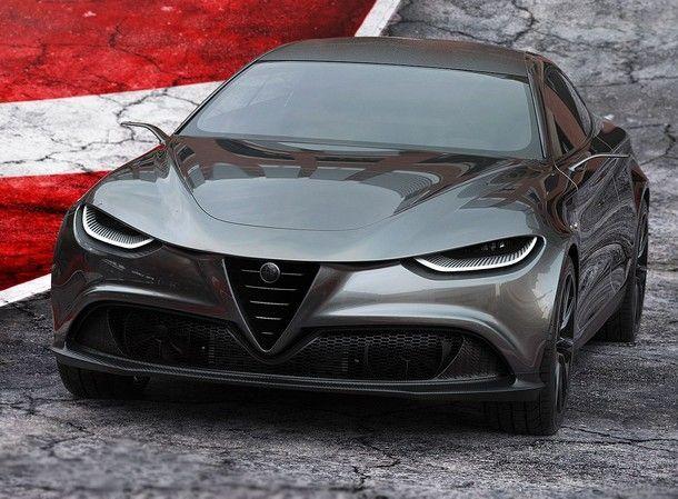 Alfa Romeo Gran Turismo Leggera Concept สปอร์ตคูเป้สุดงามจากฝีมือนักออกแบบอิสระ