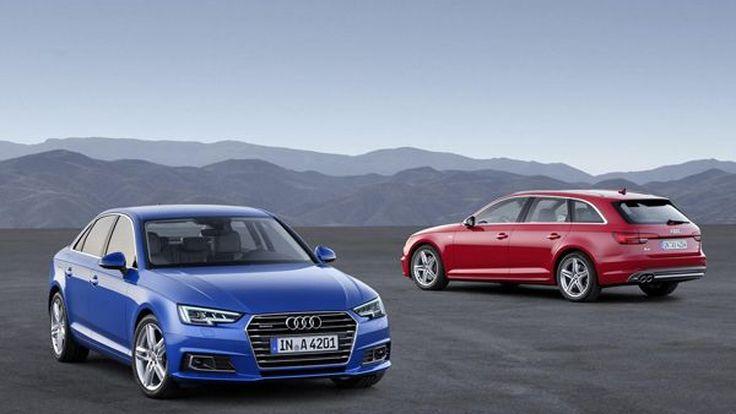 เปิดตัว 2016 Audi A4 โฉมซีดานและอาวองท์ถูกรีดน้ำหนักลง 120 กก.