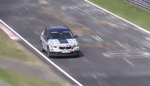 แอบดู 2016 BMW X1 ทดสอบสมรรถนะแบบโหดๆ ในเนอร์เบิร์กริง (ชมคลิป)