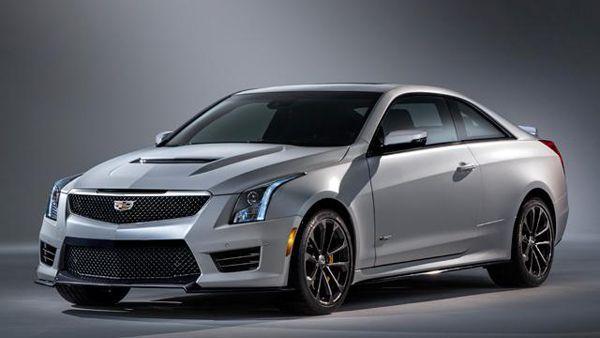 เน้นเหลี่ยมคม 2016 Cadillac ATS-V Coupe รถสปอร์ตมะกัน 450 แรงม้า