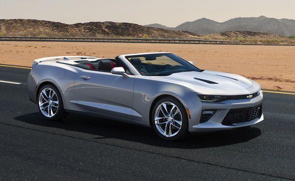 เผยโฉม 2016 Chevrolet Camaro Convertible เน้นรีดน้ำหนักเบาลงกว่าเดิม