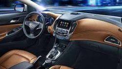 เผยภาพแรกห้องโดยสาร 2016 Chevrolet Cruze เจนเนอเรชั่นใหม่