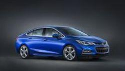 ยลโฉมกันเต็มตา 2016 Chevrolet Cruze คอมแพกต์ซีดานรุ่นยอดนิยม