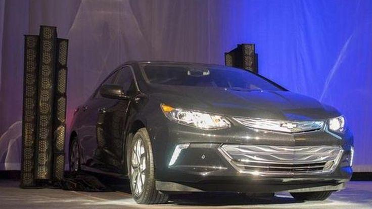 เผยโฉมหน้าครั้งแรก 2016 Chevrolet Volt ปรากฏตัวในงาน CES