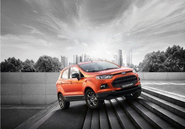 Ford เปิดตัว EcoSport รุ่นแบล็กอิดิชั่น ใหม่